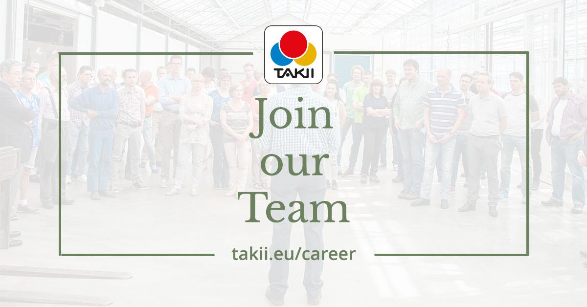 Career | Takii Europe B V